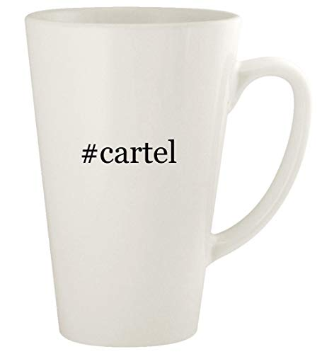 #cartel - 17oz Ceramic Latte Coffee Mug Cup, White (Swtor Best Cartel Pack)