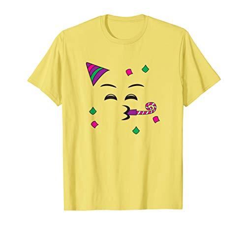 Party Hat Emoji (Party Hat Blowing Horn Halloween Partying Emojis DIY Costume)