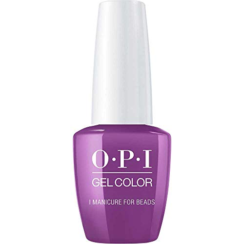 OPI GelColor, I Manicure for Beads, 0.5 Fl. Oz. gel nail polish ()