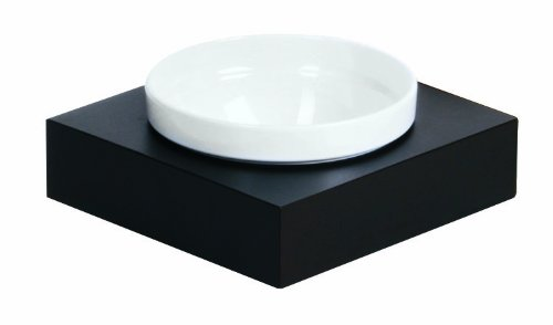 APS Paderno World Cuisine Wenge Wood Individual Small Bowl and Square Base Set by APS Paderno World Cuisine