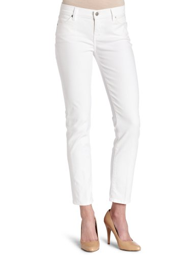 7 For All Mankind Women's Straght Leg Jean, Clean White Slim, - For Jeans Mankind All Slim 7