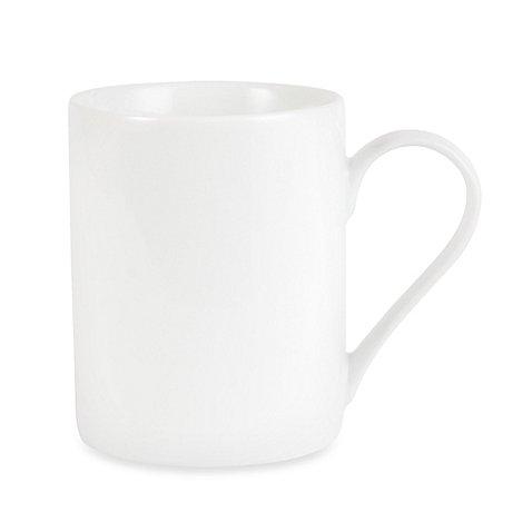 Everyday White Coupe 12 oz. Can Mug