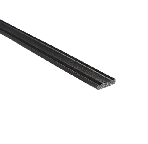 "Trim-Lok Crowned Rectangle Rubber Seal – EPDM Foam Rubber Seal with High Tack (HT) Adhesive – Door & Window Weather Seal for Your Home, Car, Truck, RV or Boat – .125"" Height, .5"" Width, 100' Length by Trim-lok"