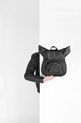 Oribagu Origami Marken-Rucksack Black Bulldog, Backpack, Bulldogge schwarz