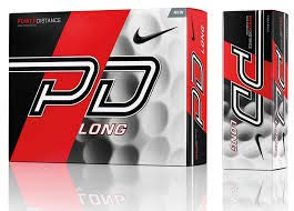 Nike Golf GL0710-101 PD9 Long White Bi-Ling Ball