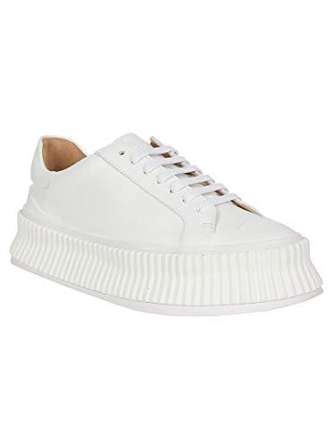 Jil Femme Baskets Blanc Sander Cuir Js31282a08285 11wfr6xq