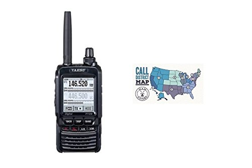 Yaesu FT-2DR Dual Band C4FM Hand-Held Transceiver with Ham Guides TM Quick Reference Guide Bundle!!
