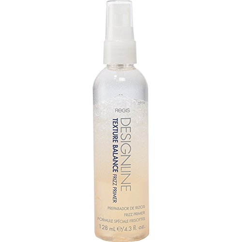 Weightless Gel Shine Curl Curling - Texture Balance Frizz Primer, 4.3 oz - Regis DESIGNLINE - Delivers Intense Anti-Frizz Nutrition and Weightless Conditioning to Add Smoothness and Shine for Dry and Frizzy Hair
