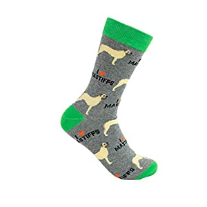 Bull Mastiff Socks - Comfy Unisex Adult Socks 3