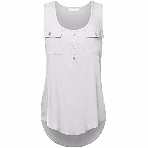 Racing Stripes Ladies Tee - Kulywon Women's Plus Size T Shirt Scoop Neck Sleeveless Sexy Lace Back Tank Tops