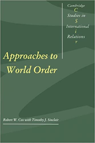 Amazon com: Approaches to World Order (Cambridge Studies in