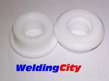 Teflon Insulator (2pcs TIG Welding Torch Teflon Gasket Insulators 54N63-20 for Torch 9, 20 and 25)