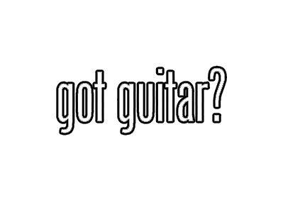 Morgan Graphics Got Guitar Sticker Decal Musical Instrument Strings Vinyl Decal Sticker Car Waterproof Car Decal Bumper Sticker 5