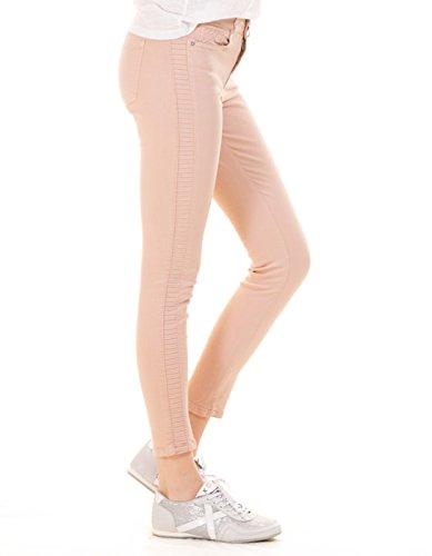 Pantalones rosa pitillo elástico Morgan de Toi Rosa