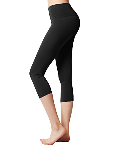 49abcc72f9 ACTICLO Plus Size Women's Tummy Control Sports Running Yoga Workout  Leggings Pants Hidden Pocket (XS