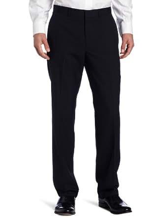 Kenneth Cole REACTION Men's Navy Stripe Suit Separate Pant, Navy Stripe, 30x30