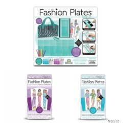 - Fashion Plates Deluxe Kit with Glamour and Sports Expansion Packs