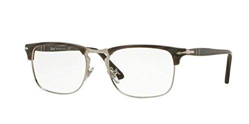 Persol PO8359V Eyeglass Frames 1045-51 - Dark Horn - For Persol Men Eyeglasses