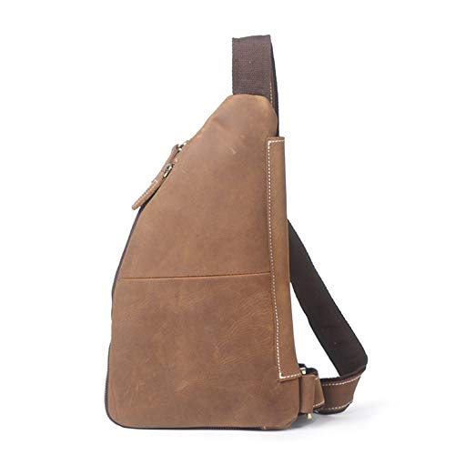 Chest Women Backpack Crossbody Travel Leather for Sling Ybriefbag Bag Bag Sports Messenger Men Men's Shoulder Outdoor Casual Outdoor YOwqg6Wa0q