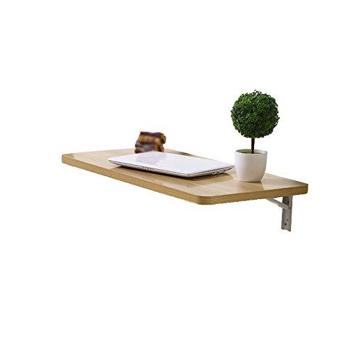 100x40cm折りたたみテーブル 壁折りたたみダイニングテーブル/デスクトップ (色 : Natural color) B07D7TYQ5BNatural color
