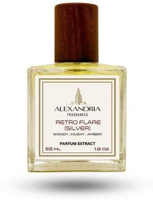 Retro Flare (Silver) Parfum Extract 55ML by Alexandria Fragrances