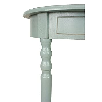 D cor Therapy FR1540 End Table Antiqued Iced Blue