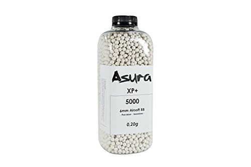 Precision Airsoft Bb (Asura XP+ 0.2 Gram 6mm Precision Airsoft BB 5000 Count)