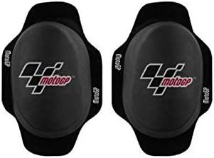 Deslizadera de rodilla para motoristas rodillera deslizantes carretera circuito competicion sliders con logo MotoGP Verde
