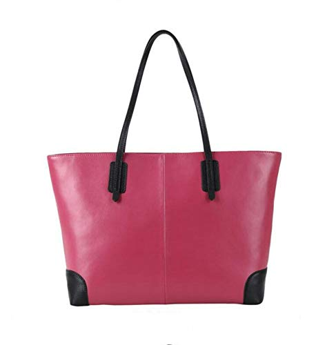 Hongge Bag Shoulder Bag Simple Female Layer Female Baotou One Color Bag E Female Bump Fashion Leather Big Cowhide Pac6qrtXPw