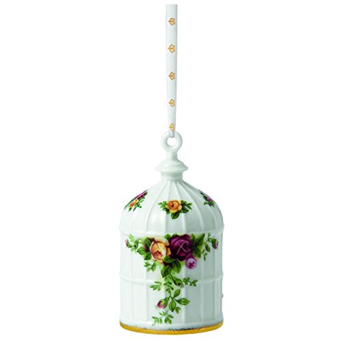 Royal Albert Old Country Roses Ornament, Birdcage 3.Inch
