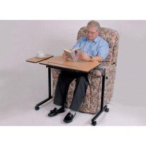 Patterson Medical - Mesa auxiliar ajustable para cama y silla: Amazon.es: Salud y cuidado personal