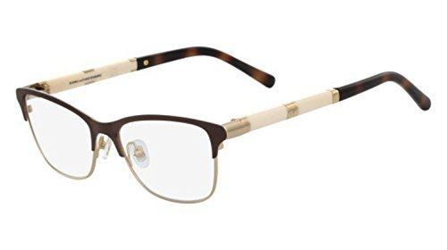 Eyeglasses Diane von Furstenberg DVF 8054 210 BROWN -