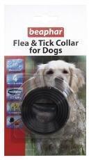 Beaphar Hund Kunststoff Floh & Zeckenhalsband verschiedene Farben 60cm