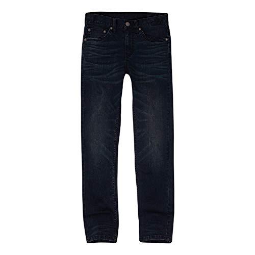 Levi's Boys' Little 512 Slim Fit Taper Jeans, Warsaw, 5 (Place Warsaw)