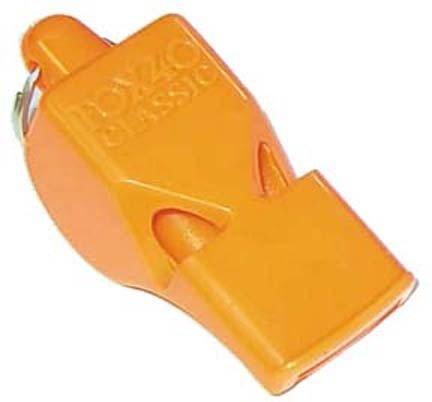 Orange Fox Whistles - Set Of 10 by Fox 40