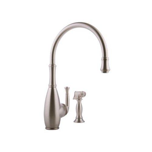 Cheap Graff G-4805-SN Duxbury Kitchen Faucet with Side Spray, Steelnox graff faucet
