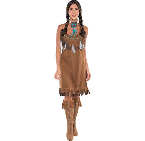 Amscan Native American Halloween Costume for Women, One Size ()