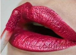 (Matte Lipstick Waterproof Metal Liquid Lipstick Red Lips Lip gloss Ladies Elegant beauty Maquiagem )