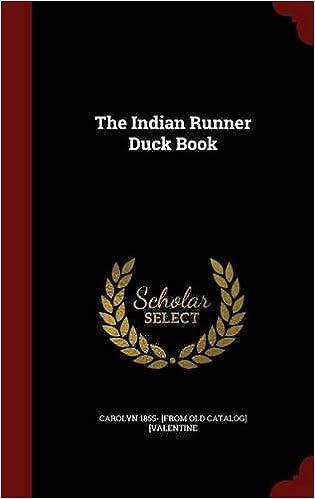 The Indian Runner Duck Book