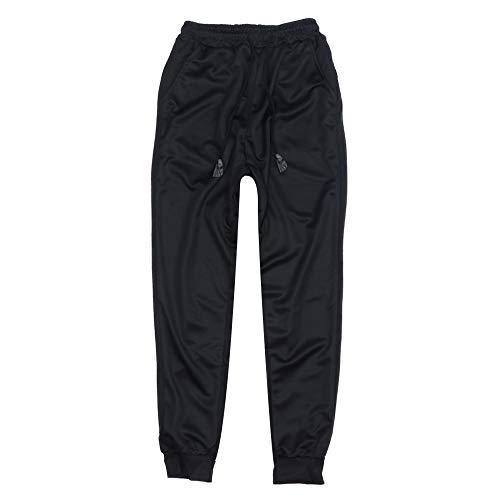Casual Moda De Color Pie Hombre Vaqueros Pantalones OHQ Gris Negro Azul Caqui Solid CóModo Negro wIRxw0t