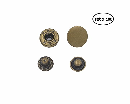 Snap Fasteners Buttons(15mm) - 6
