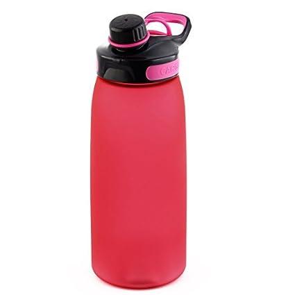 eDealMax plástico al aire Libre Deportes Botella de agua portátil, Viajar Taza de la Taza