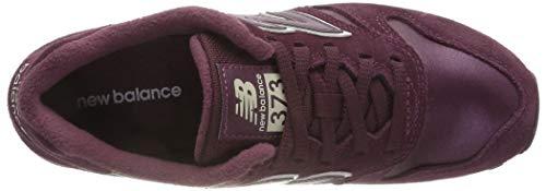 eggplant A Rosso Pbv New white Balance Basso Collo 373 Sneaker Donna wP8q7P