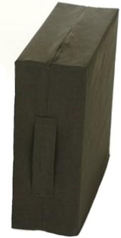 Sitzerhöhung m. RV. u.Griff 40x43x10cm, schwarz(Kempert), Sitzkissen