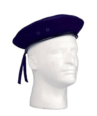 4916	Military Navy Blue Beret (Size 7.25)