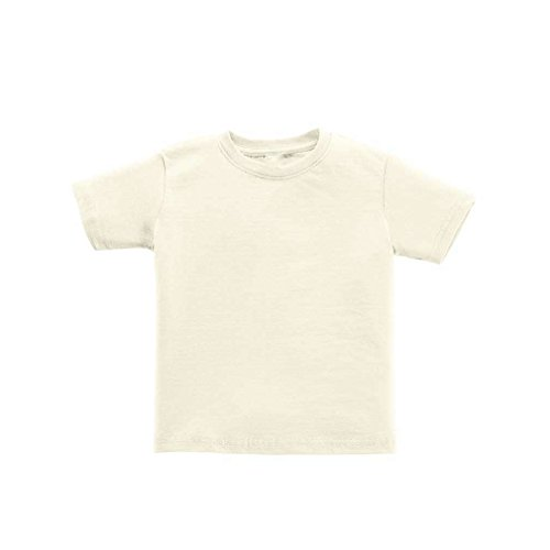 ea4a53dc6 Apericots Plain Blank Toddler Kids Tee Shirt Ultra Soft Cotton Short Sleeve  - Buy Online in Oman. | Apparel Products in Oman - See Prices, Reviews and  Free ...