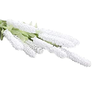 Hot.Sale 5 Bouquet Artificial Silk Lavender Flower Home Wedding Garden Floral Decor DIY 60