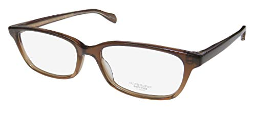 Oliver Peoples Barnett Mens/Womens Designer Full-rim Genuine Made In Japan Eyeglasses/Eye Glasses (50-16-140, Brown) (Brillen Made In Japan)
