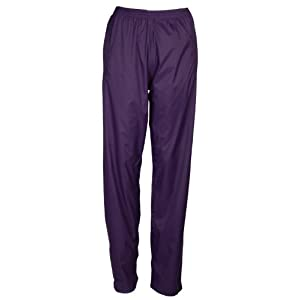 Mountain Warehouse Pakka Womens Fold Away Rain Pants Purple 18