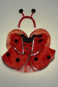 [Ladybug Costume with Wings Outfit Teddy Bear Clothes Fit 14